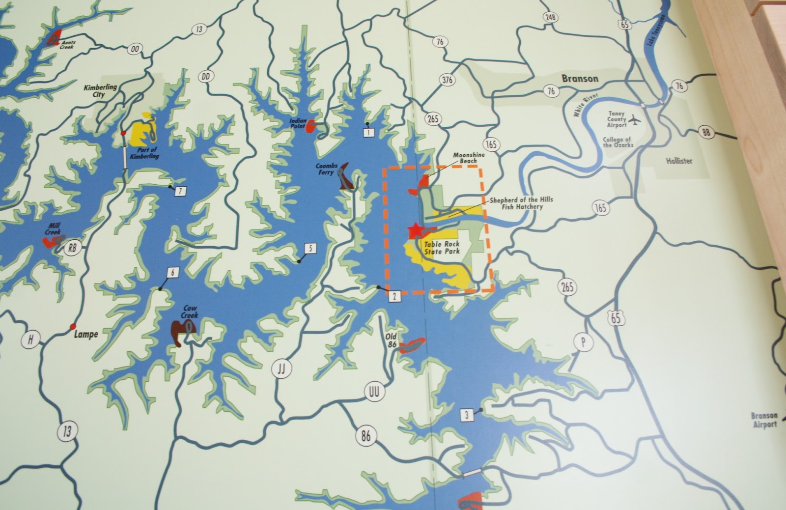 map tablerock