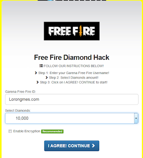Freefirediamondhack com || Cara dapatkan Diamond gratis dengan freefirediamondhack .com