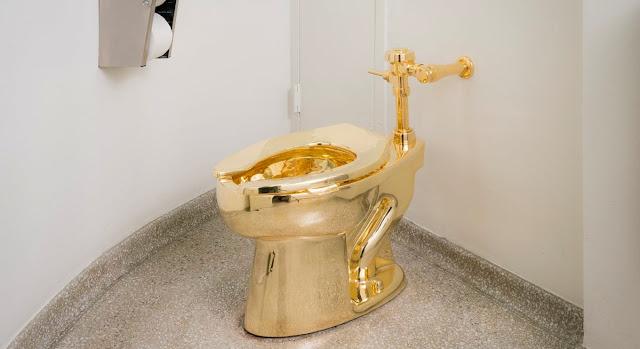 Inilah Toilet Paling Mahal Terbuat Dari Emas 18 Karat