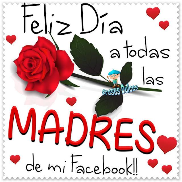 Feliz día de la madre, imagen para Facebook
