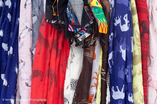 African Textiles: African Art & Craft Market - Boulders Beach, Simon's Town