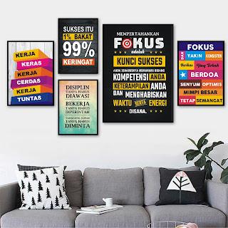 Poster Motivasi Format CorelDraw