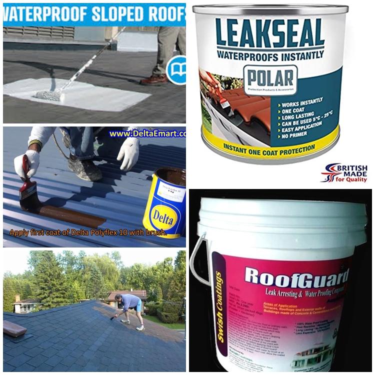 Membaiki Bumbung Rumah Bocor