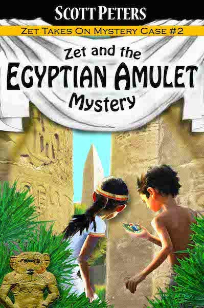 Mystery of the Egyptian Amulet book by Scott Peters