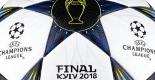 Bola da final da Champions 2017-18 já é conhecida