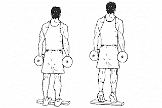 5. Dumbbell Calf Raise