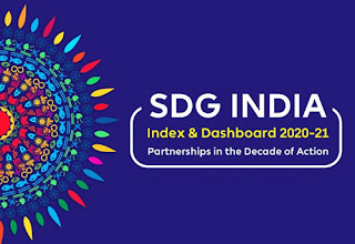 NITI Aayog's 3rd SDG India Index 2020-21