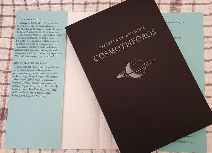 Interior del libro «Cosmotheoros» de Jekyll & Jill