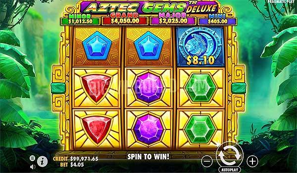 Main Gratis Slot Indonesia - Aztec Gems Deluxe (Pragmatic Play)
