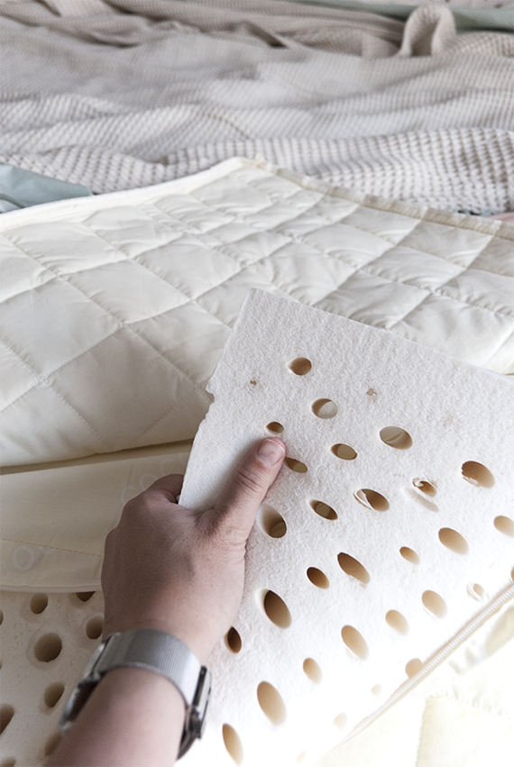 COCO-MAT mattress review by My Paradissi. Photo © Eleni Psyllaki