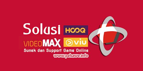 Solusi Videomax Telkomsel Sunek dan Support Game Online