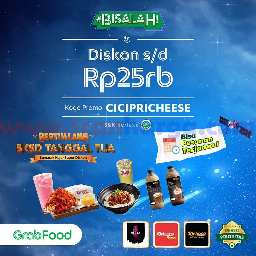Promo Richeese Factory Terbaru 19 April - 2 Mei 2021