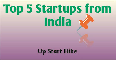 Top 5 Startups from India