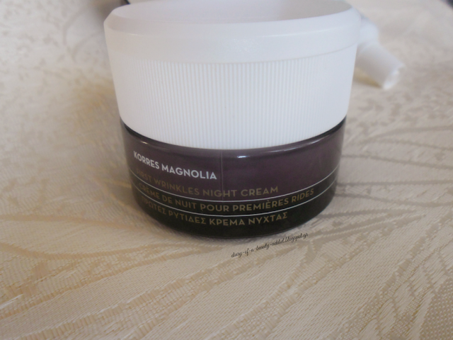 Korres Magnolia Bark Night Cream for First Wrinkles