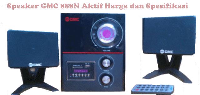Harga Speaker GMC 888N Aktif Spesifikasi