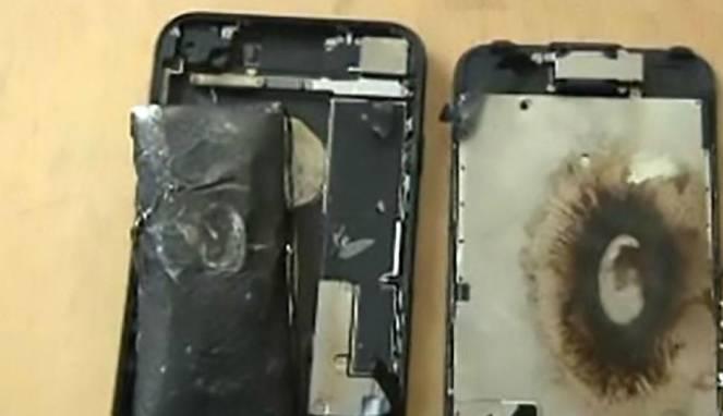iPhone 7 Meledak