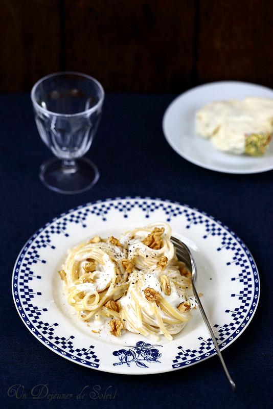 Pâtes aux trois fromages recette italienne