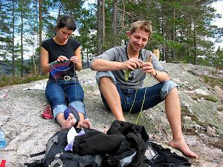 dzierganie w norwegii