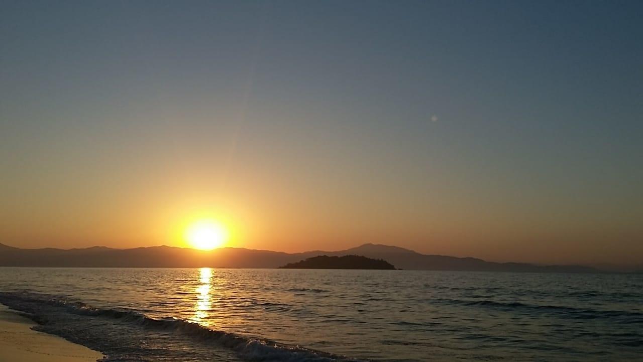 destino brasileiro de verão - Pôr do sol em Jurerê Internacional
