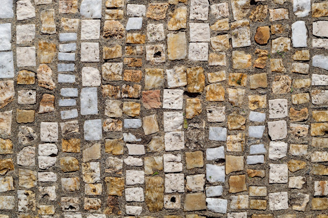 Old Weathered Cobblestone Texture Free Image