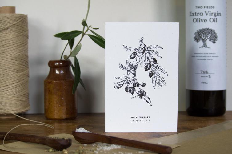 Two Fields Card - Alfie's Studio