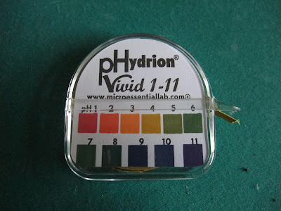 phydrion paper, ph scale paper, test water, optimum ph, lotus