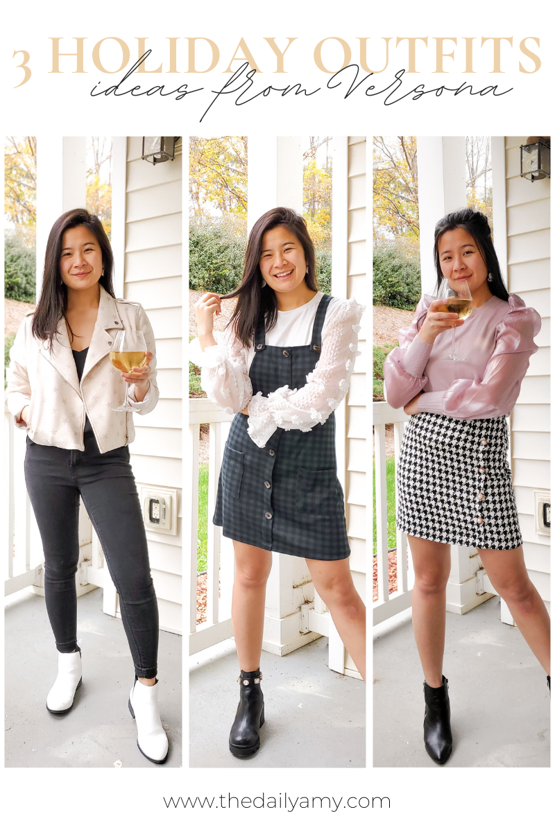 3 Holiday Outfits From Versona