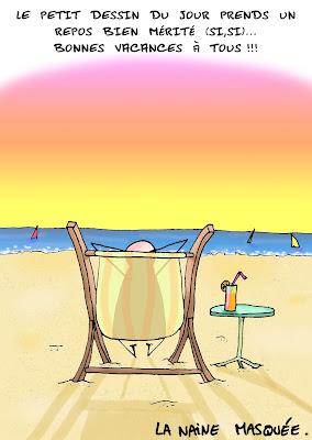 Vacances j'oublie tout…..