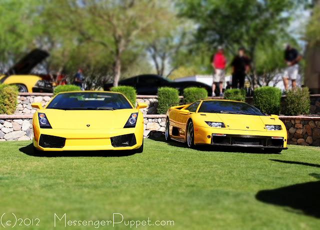 Lamborghini Diablo GT and Gallardo