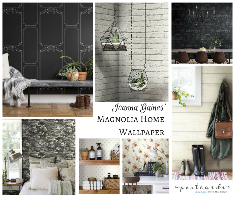 Add Some Wow to Your Walls with Joanna Gaines' New Wallpaper | Postcards from the Ridge