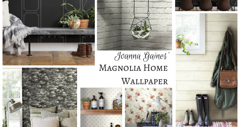 Add Some Wow To Your Walls With Joanna Gaines New Wallpaper Postcards From The Ridge