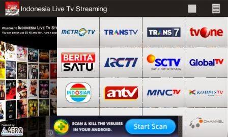 5 aplikasi android gratis untuk streaming tv, anime, film.