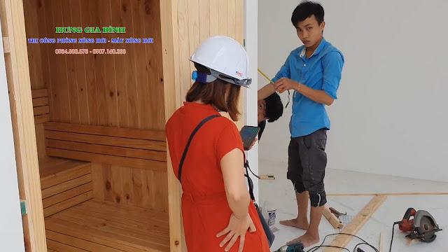 Thi công Lắp đặt phòng xông hơi gia đình tại Đà Nẵng, Hội An