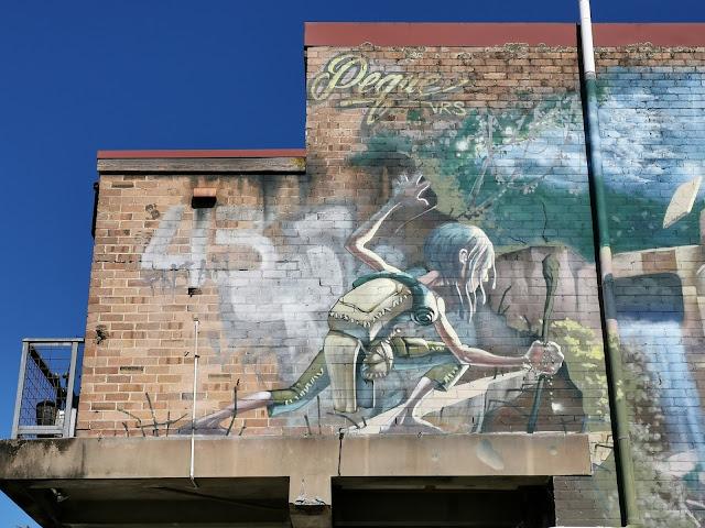 Katoomba Street Art   Peque