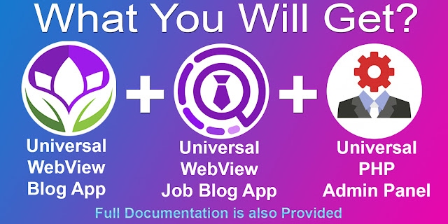 Universal WebView 2 App Bundle with Admin Panel - 7