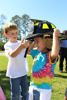 Catholic's K4 & K5 Class Gets a Special Lesson in Fire Safety 1