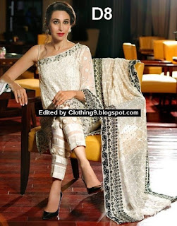 Mina Hasan's latest chiffon collection for Eid 2016