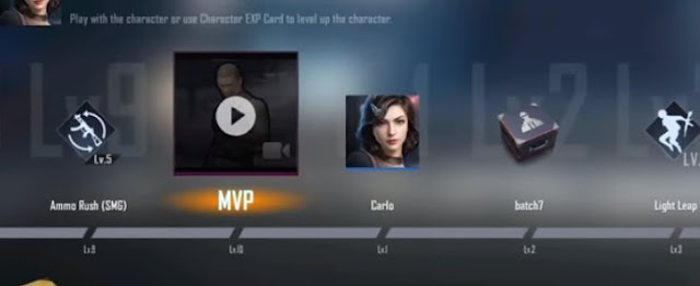 PUBG Mobile: New Character Carlo Emotes