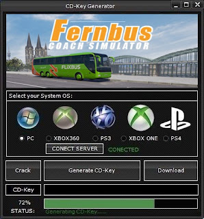 Fernbus Simulator CD Key Generator (Free CD Key)