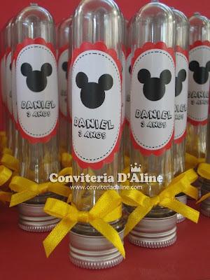 lembrança festa Mickey