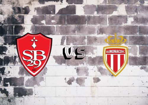 Brest vs AS Monaco  Resumen