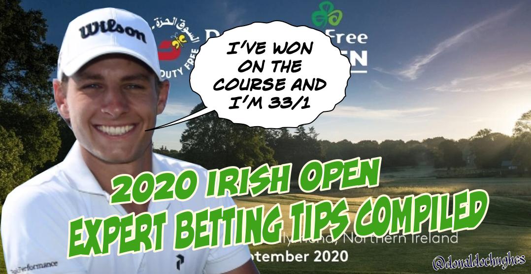 Irish open golf betting william hill sports betting lines