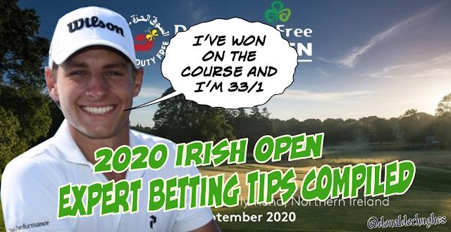 Irish Open 2020 Golf Betting DraftKings
