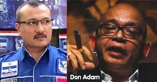 Agak Keras, Don Adam: Ferdinand Hutahaean, Pengurus Partai Demokrat Terbodoh Yang Pernah Ada