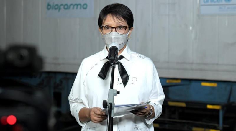 Menlu: Indonesia Menerima Batch Kedua Vaksin AstraZeneca