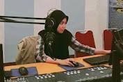 Mahasiswa Komunikasi Unismuh Ini Merasakan Jadi Jurnalis Saat Magang di RRI Makassar