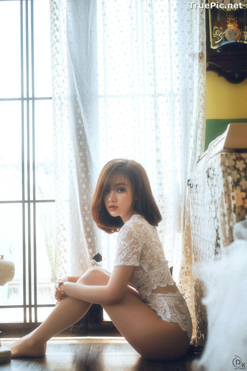 Image Vietnamese Hot Model - Sleepwear and Lingerie Under Dawnlight - TruePic.net - Picture-6