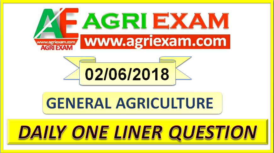 Agriculture Objective Question for Agriculture Exam National seed corporation , IFFCO, KRIBHCO, State PSC, Agriculture University