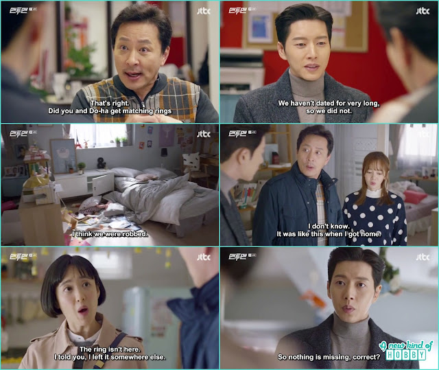 Do ha father ask guard kim about exchanging some ring to be sure guard kim doesn't have that ring - Man To Man: Episode 6