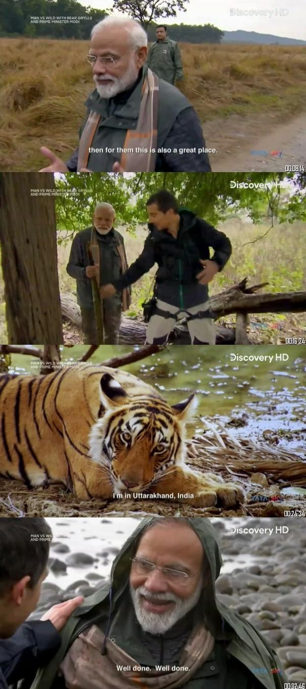 Man vs Wild ft. PM Narendra Modi 12 Aug 2019 Hindi 720p HDTV 300MB Desirehub